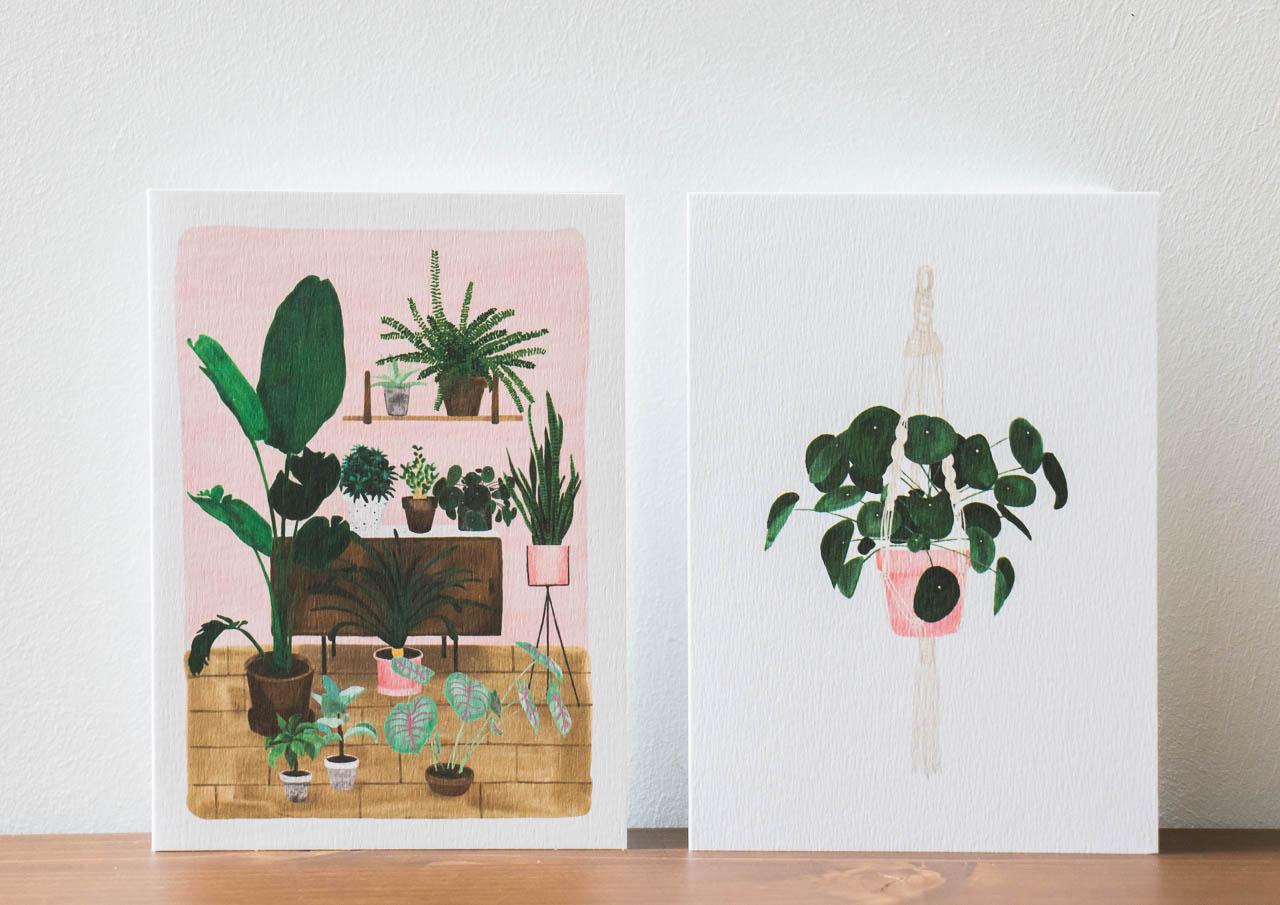 Carte piléa et jardin d'intérieur All the ways to say - Maison Mathuvu