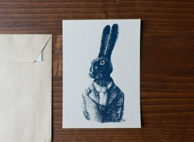 Carte lapin Sprz - Maison Mathuvu