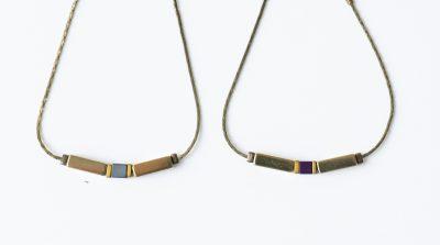 Bracelet perle doré Jisalée - Maison Mathuvu