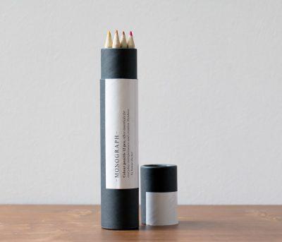 Set 12 crayons de couleur Monograph - Maison Mathuvu