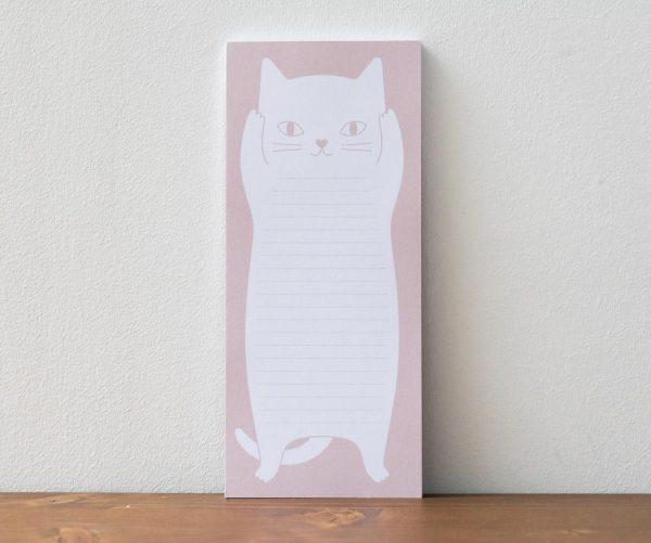 Bloc-notes chat rose audrey jeanne - Maison Mathuvu