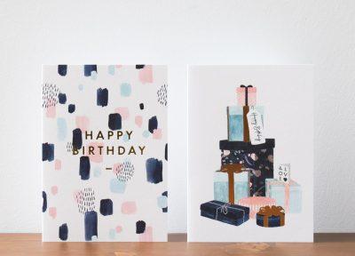 Carte anniversaire All the ways to say - Maison Mathuvu