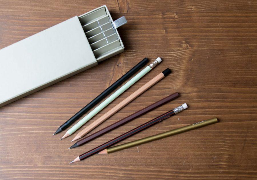 Set 6 crayons à papier Monograph - Maison Mathuvu