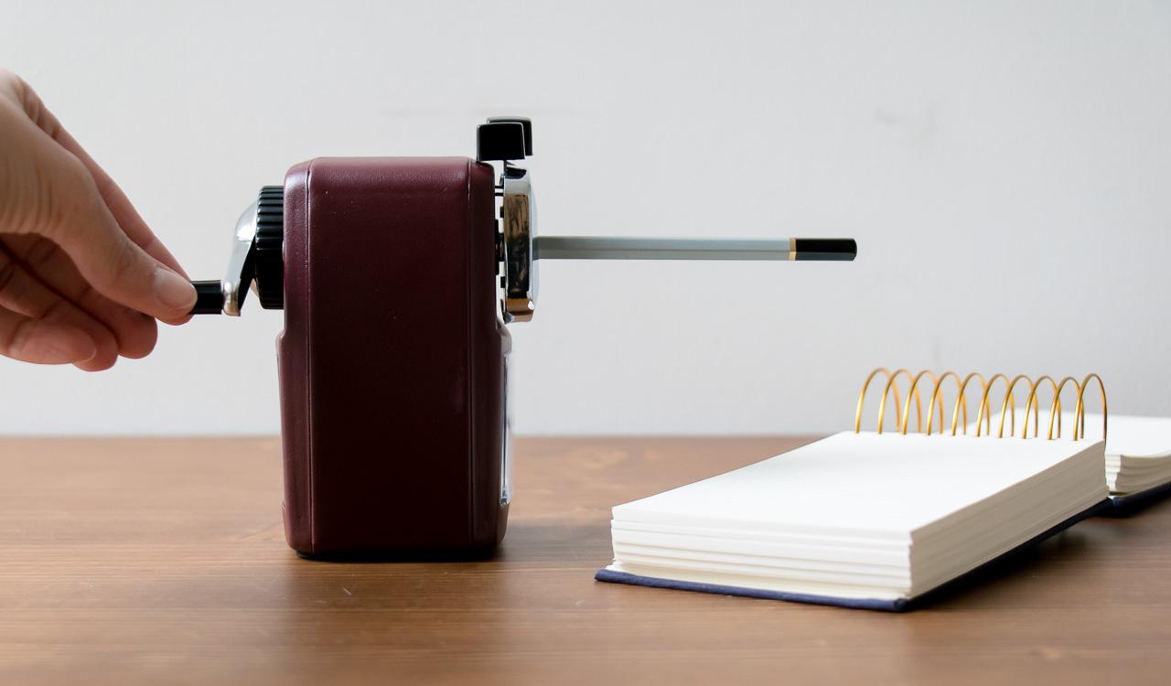 Taille crayon bordeaux - Monograph- Maison Mathûvû