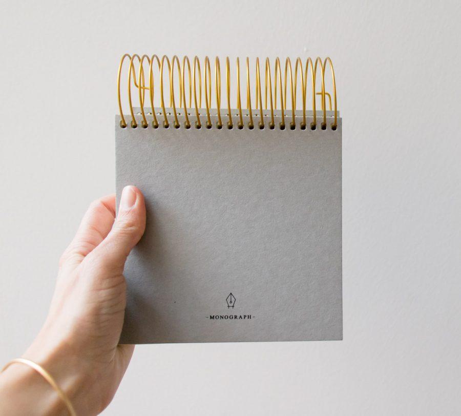 Bloc-notes - Spirale Monograph -Maison Mathûvû