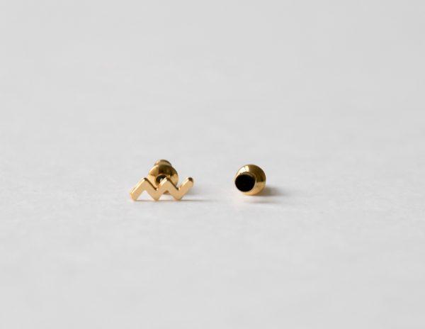 Boucles d'oreilles - Zig Zag Shlomit Ofir Maison Mathûvû