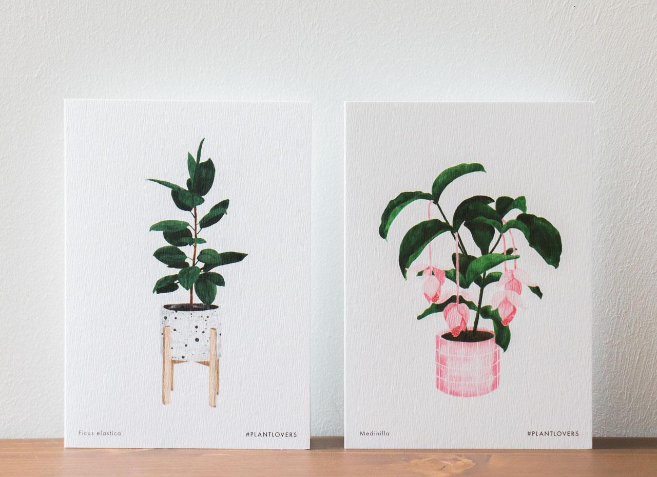 Carte plantlovers All the ways to say - Maison Mathuvu