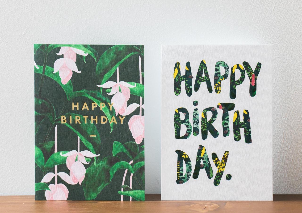 Carte happy birthday All the ways to say - Maison Mathuvu