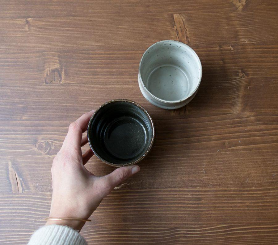 Mug Lake gris et vert House Doctor - Maison Mathuvu