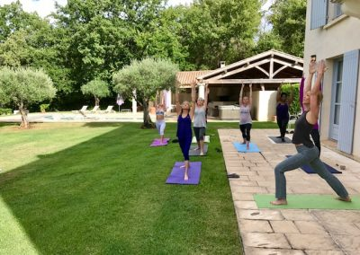 Vacances yoga dans le sud de la France Kālyana Ka Maison Mathûvû