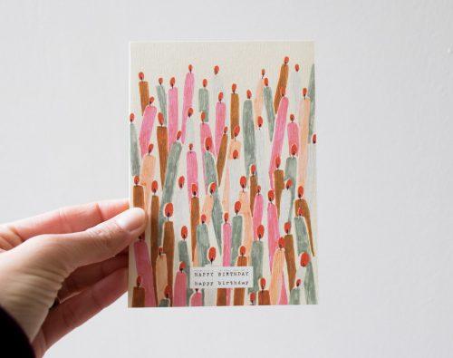 Carte d'anniversaire Season Paper- Maison Mathûvû