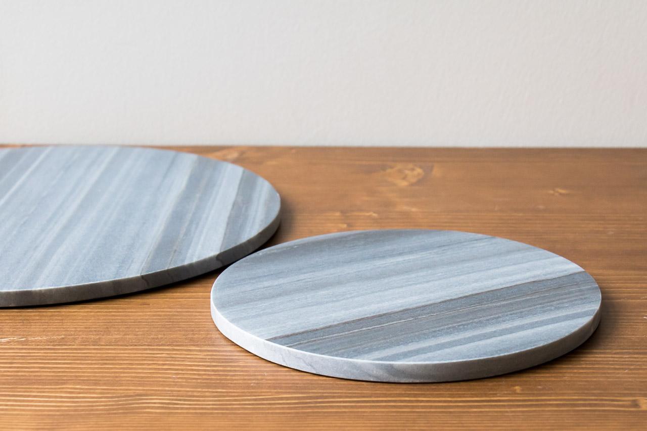 dessous de plat en marbre noir house doctor maison math v. Black Bedroom Furniture Sets. Home Design Ideas