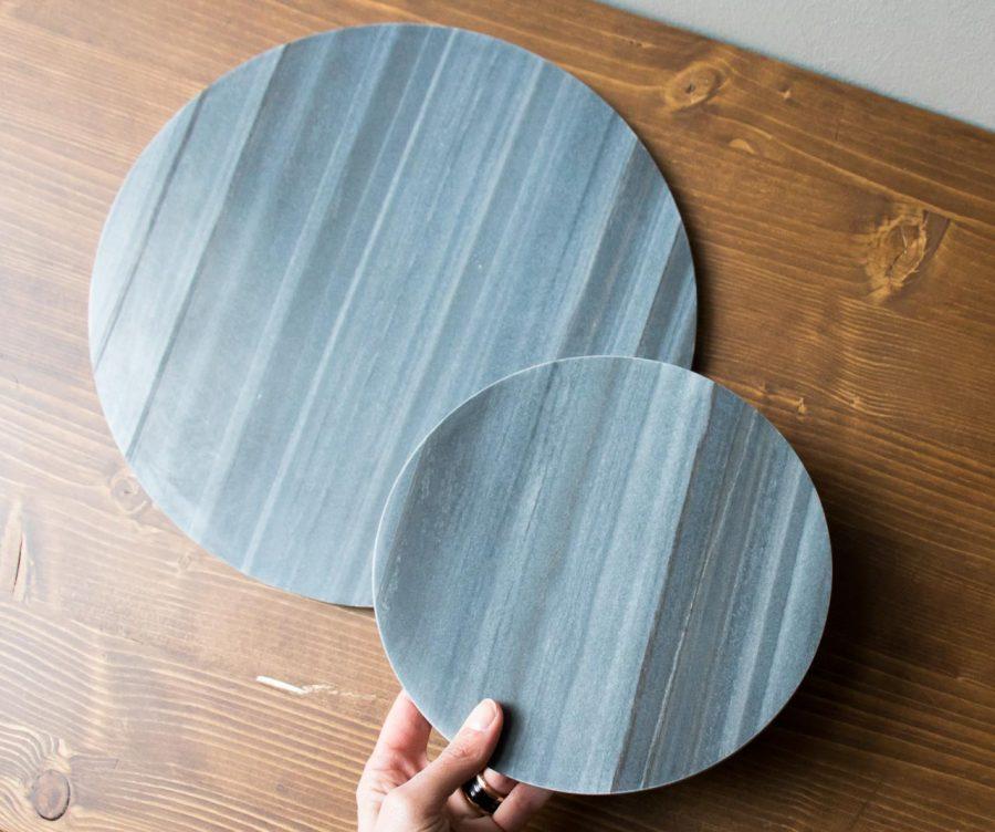 Dessous de plat marbre noir House Doctor -Maison Mathûvû