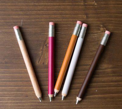 Crayon à papier -Bois peint - Loft- Maison Mathûvû