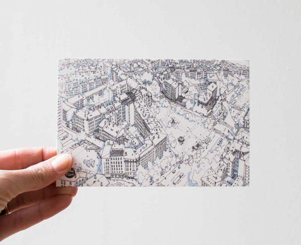 Carte - Plateau de la Croix-Rousse Emilie Ettori Maison Mathûvû