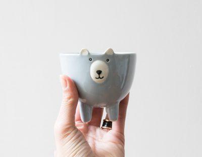 Bol ours bleu - petit modèle - Bloomingville - Maison Mathûvû