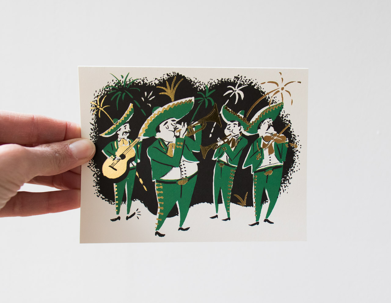 Carte mariachis red cap cards - Maison Mathuvu