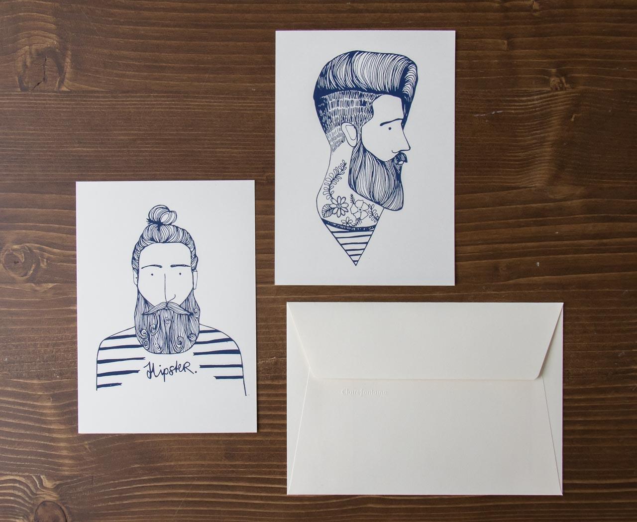 Cartes - Hipster Rugiada Petrelli Maison Mathûvû