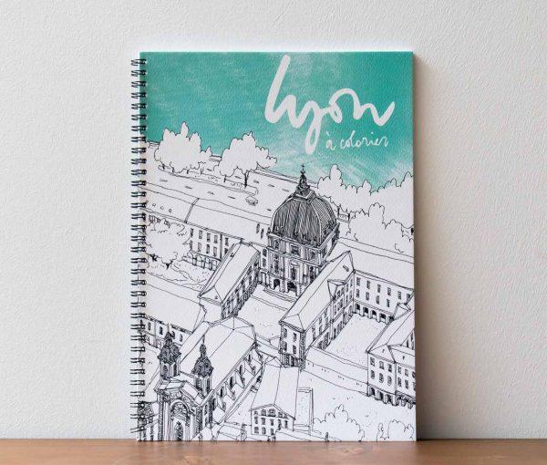 Lyon à colorier Emilie Ettori Maison Mathûvû