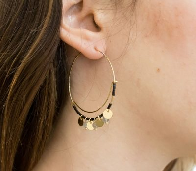 Boucles d'oreilles Salima - Gauhart -Maison Mathûvû