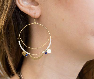 Boucles d'oreilles Lali - Gauhart -Maison Mathûvû