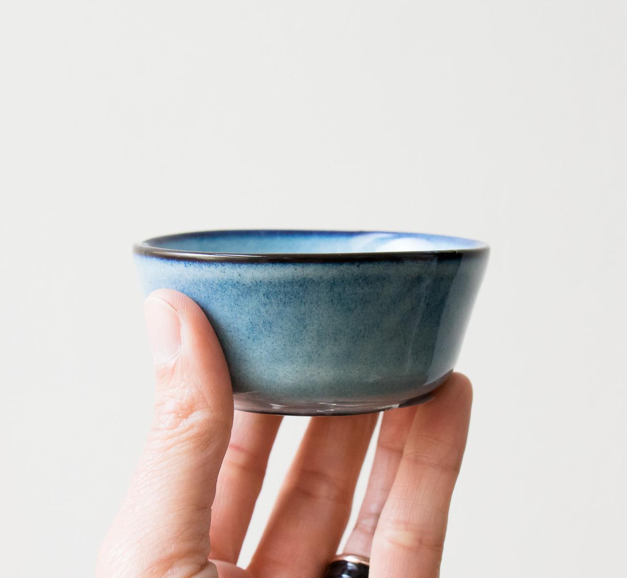 Mini coupelle bleue Bloomingville - Maison Mathuvu