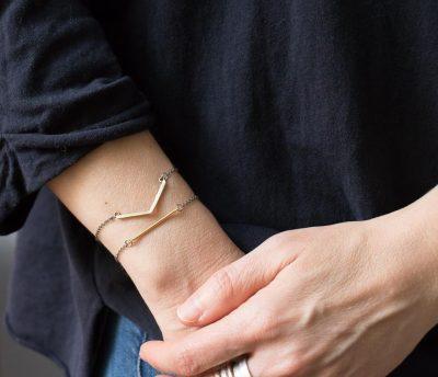 Bracelet géométrique -Maison Mathûvû