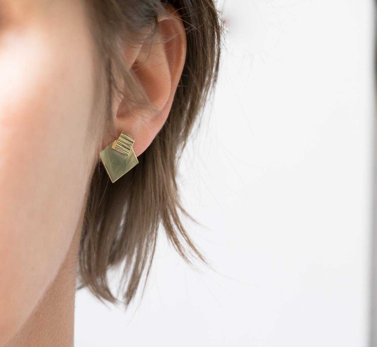 Boucles d'oreilles Bobi -Maison Mathûvû