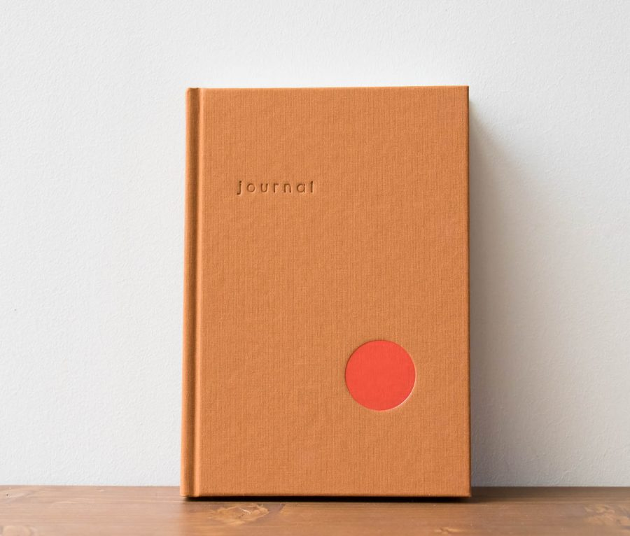 Journal Orange - Kartotek -Maison Mathûvû