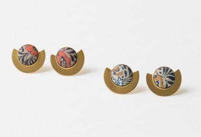 Boucles d'oreilles Luna- Barbarisme -Maison Mathûvû