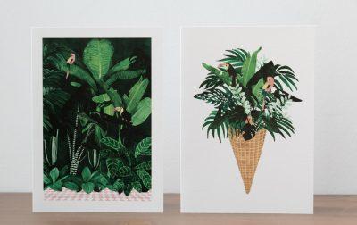 Carte Tropic - All the way to say - Maison Mathûvû
