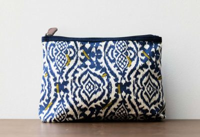Pochette motif ethnique Mr & Mrs Clynk - Maison Mathuvu