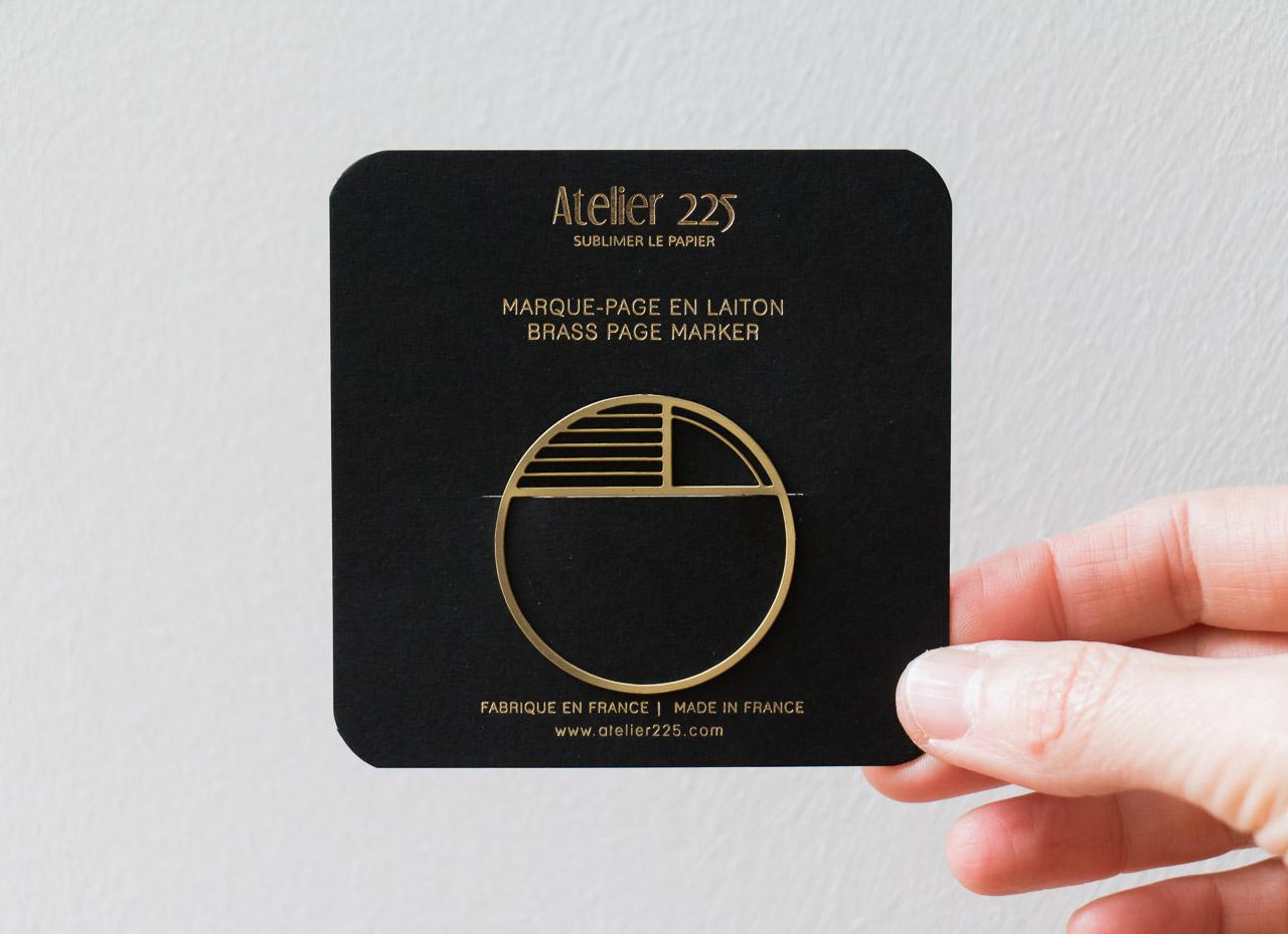 Marque page graphic Atelier 225 - Maison Mathuvu