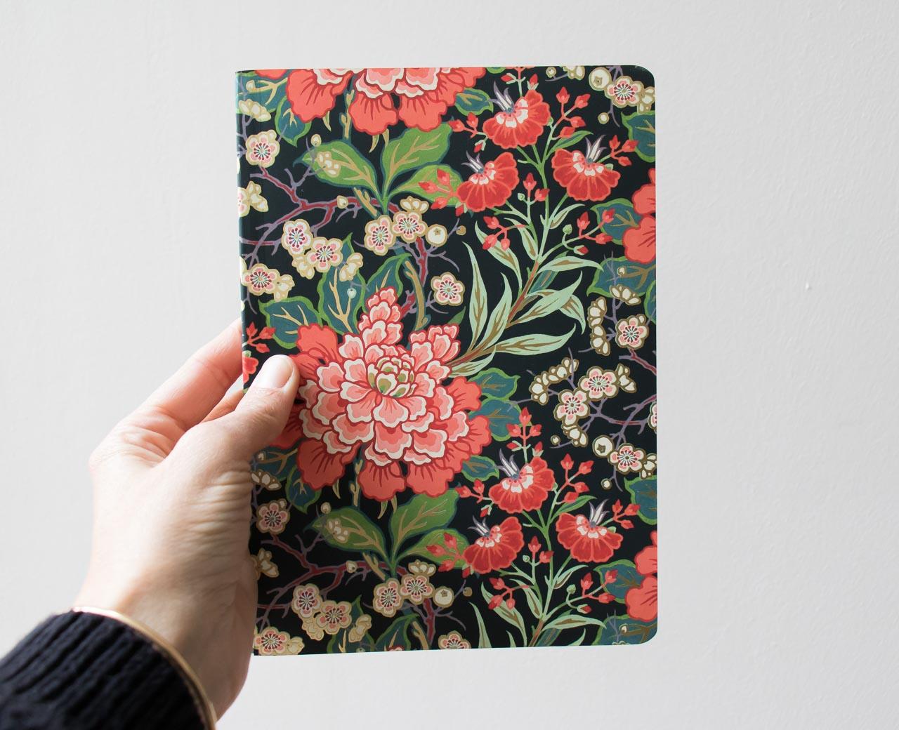 Carnet fleur rouge Museums & galleries - Maison Mathûvû