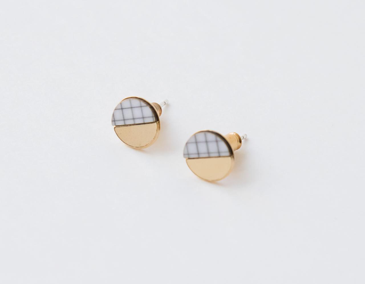 Boucles d'oreilles pi Shlomit ofir - Maison Mathuvu