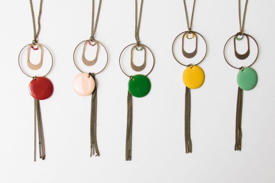 Sautoir Sequin -Summer Color - Jisalée -Maison Mathûvû