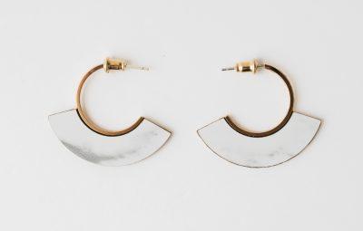 Boucles d'oreilles Memphis Shlomit Ofir - Maison Mathuvu