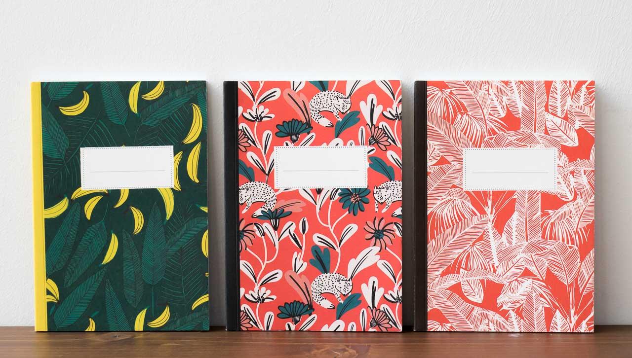 Carnet petit modèle végétal Pascale Editions - Maison Mathuvu