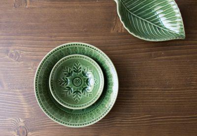 Coupelle neem vert Bungalow - Maison Mathuvu