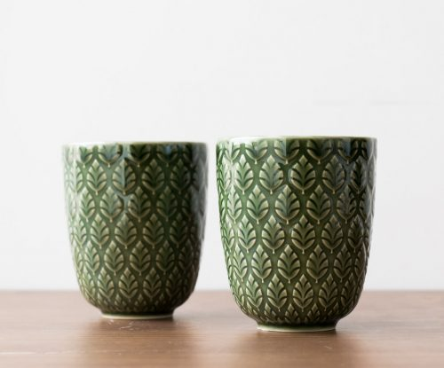 Mug neem vert Bungalow - Maison Mathuvu