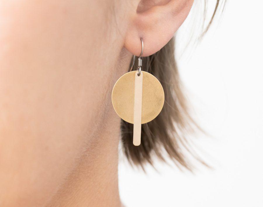 Boucles d'oreilles cercle - Maison Mathuvu