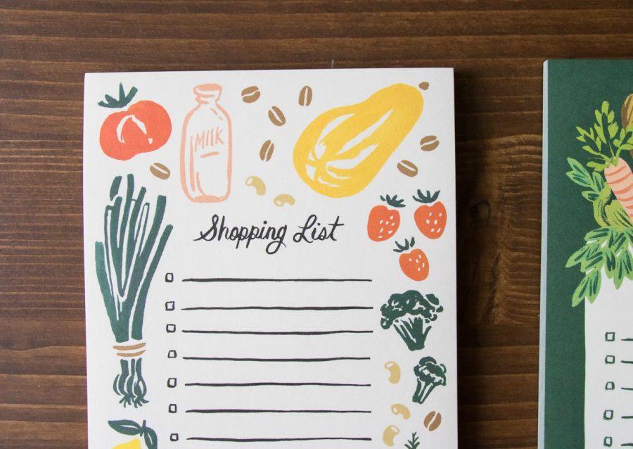 Bloc-notes fruits et légumes - Rifle Paper co -Maison Mathûvû