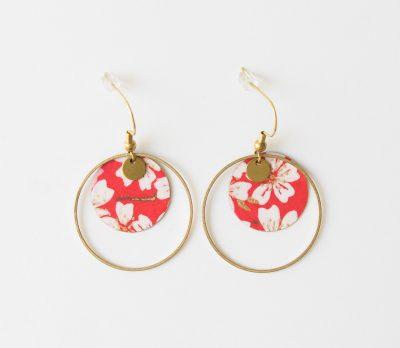 Boucles d'oreilles – Rond japonais Lilifabrique Maison Mathûvû