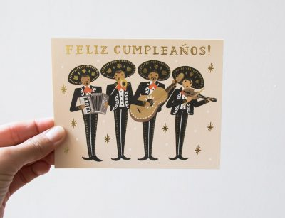 Carte Mariachi - Rifle Paper Co-Maison Mathûvû