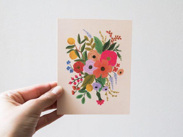 Carte Garden party - Rifle Paper Co -Maison Mathûvû