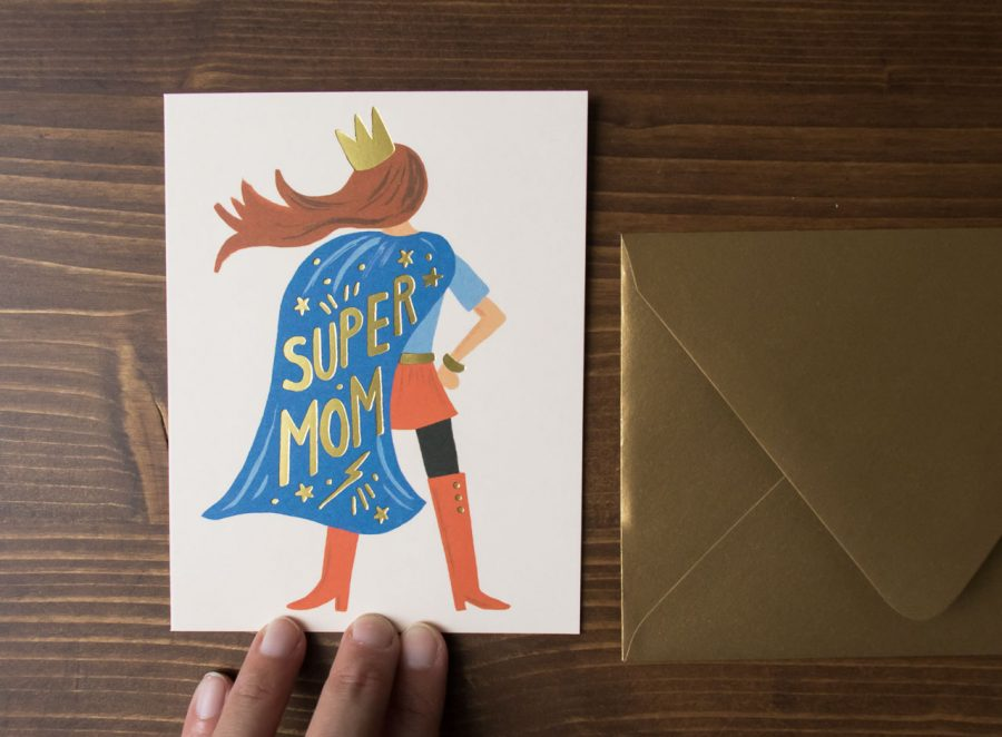 Carte Super Maman - Rifle Paper Co -Maison Mathûvû