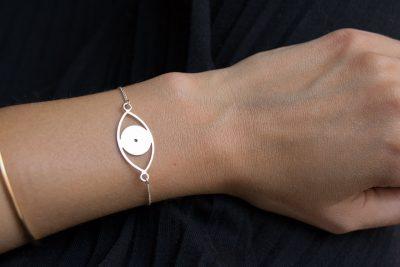 Bracelet œil Stanka mila - Maison Mathuvu