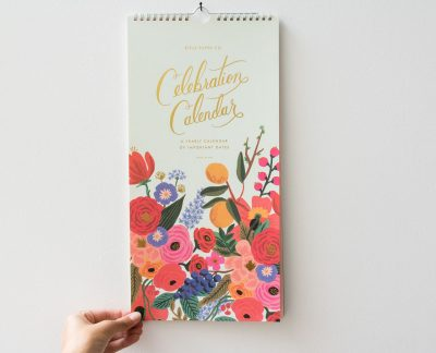 Calendrier Célébration Rifle Paper Co. Maison Mathûvû