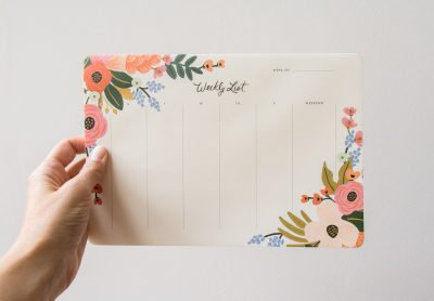 Semainier Bouquet de Printemps - Rifle Paper Co -Maison Mathûvû