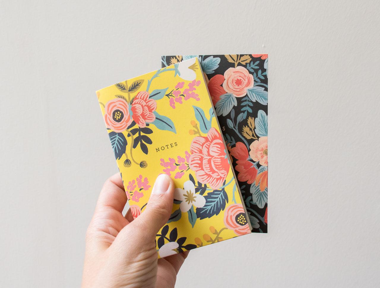 Mini carnet coloré- Rifle Paper Co -Maison Mathûvû